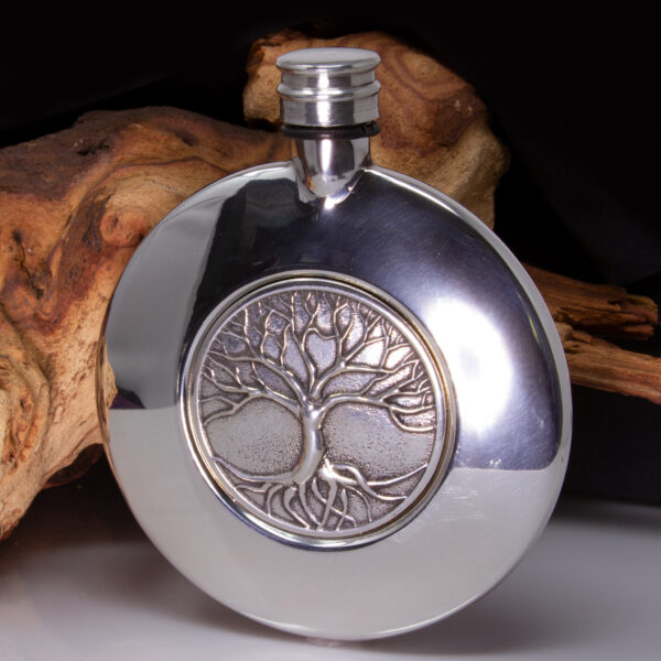 tree of life sporran hip flask
