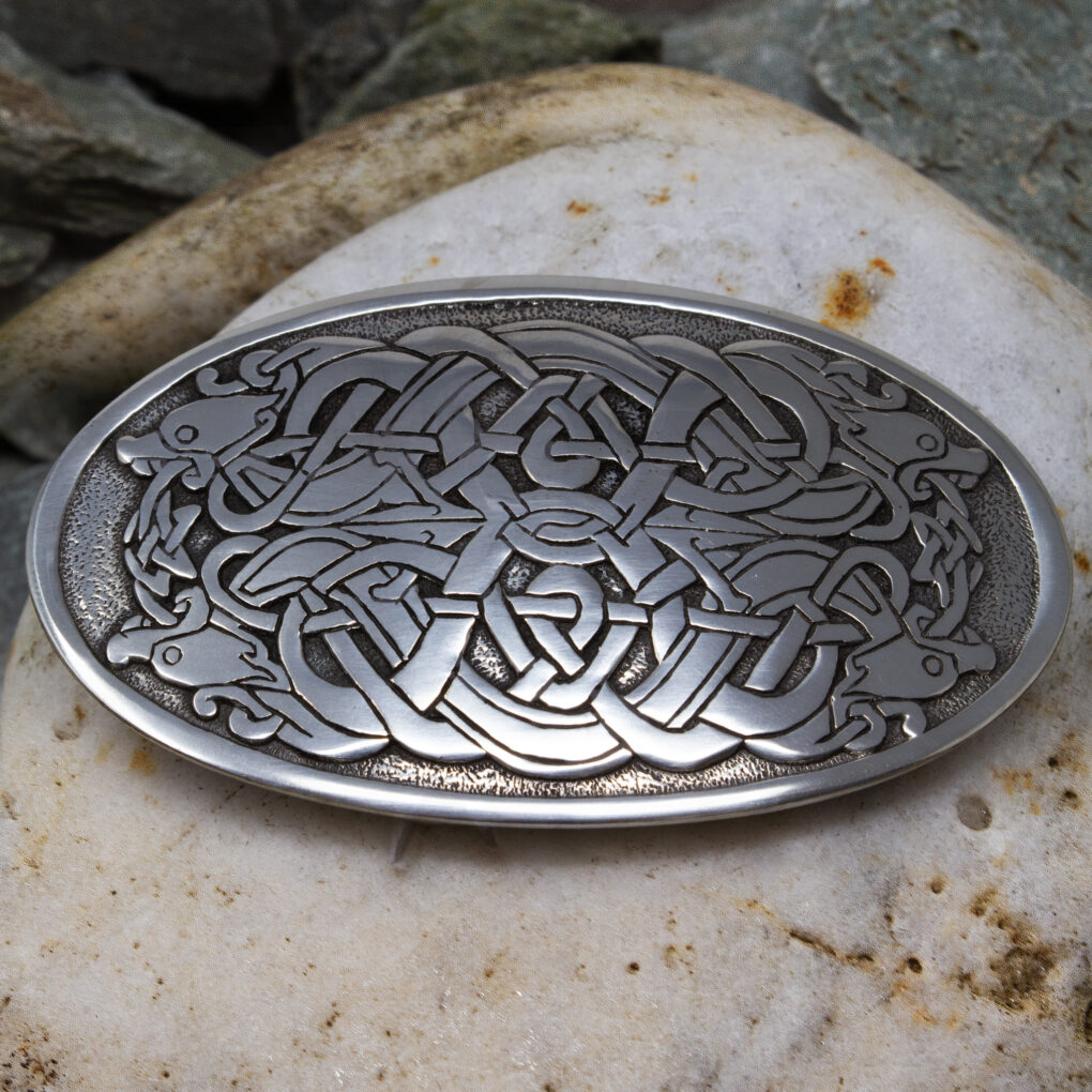 Serpent Belt Buckle