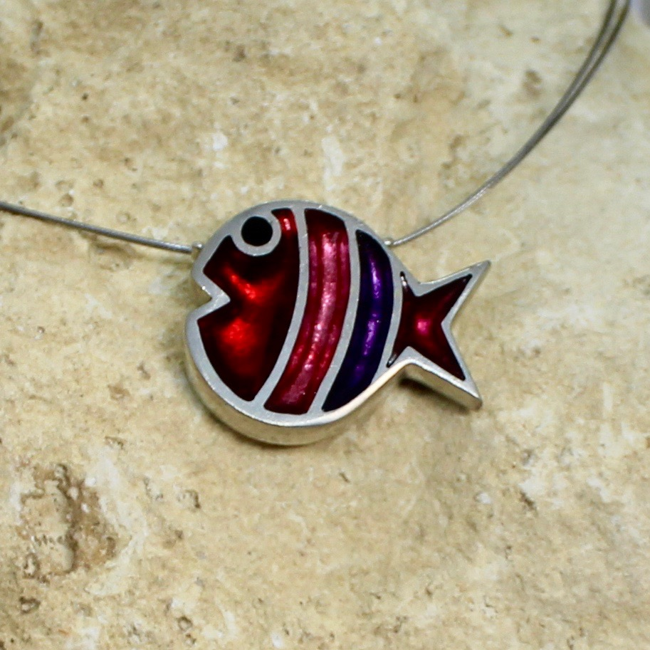 bubble fish pendant trifle