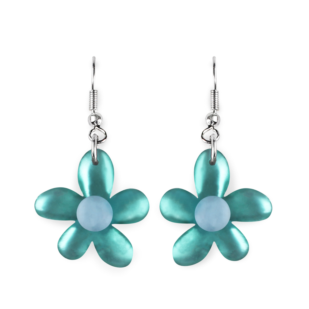 Flower Earrings - Fjord