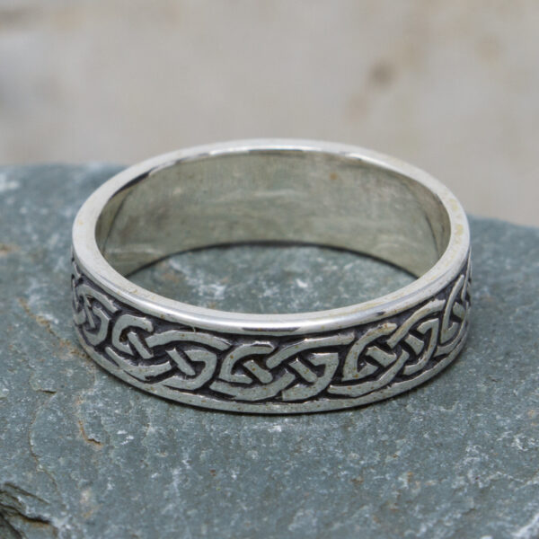 Celtic Endless Knot Silver Ring