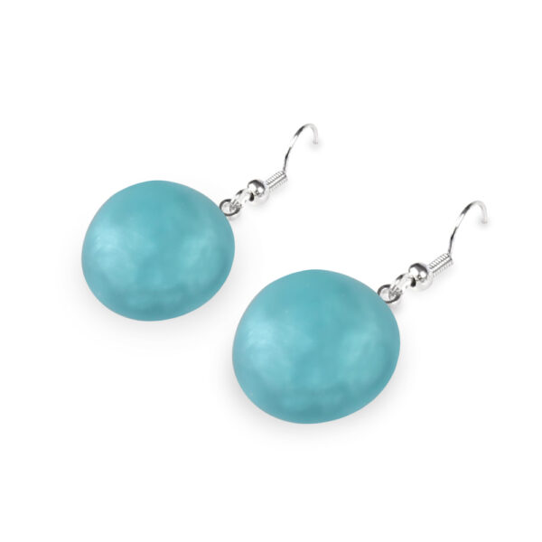 cabouchon drop earrings fjord
