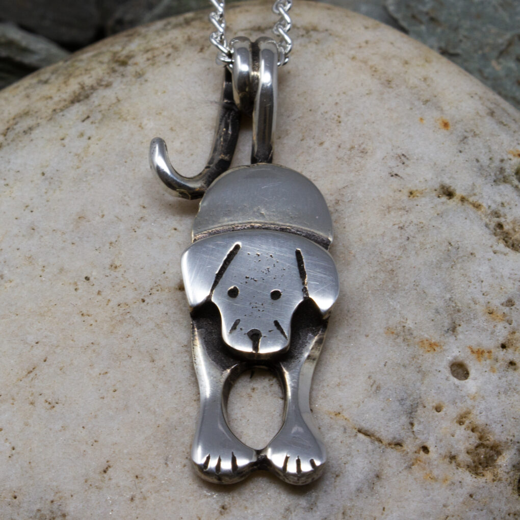 puppy dog pendant