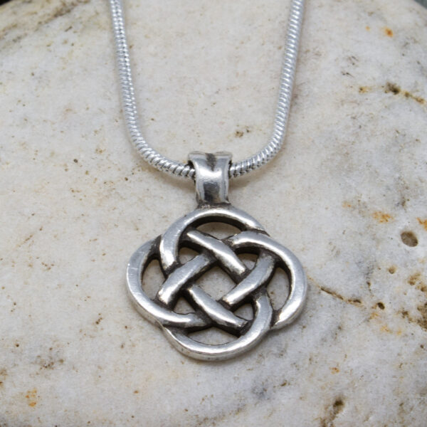 four loop knot pendant