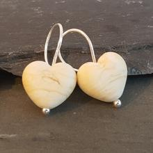 heart earrings wittering sands