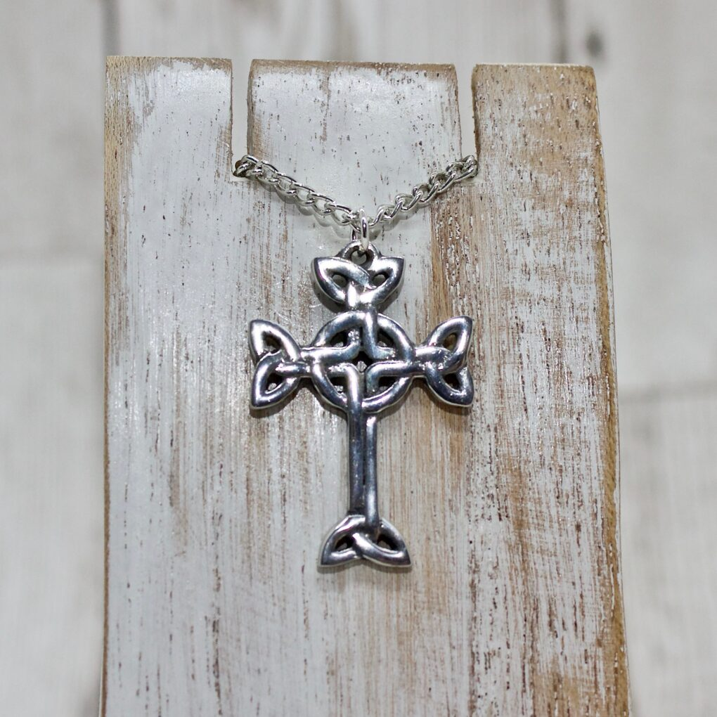 Clonmacnois celtic cross pendant