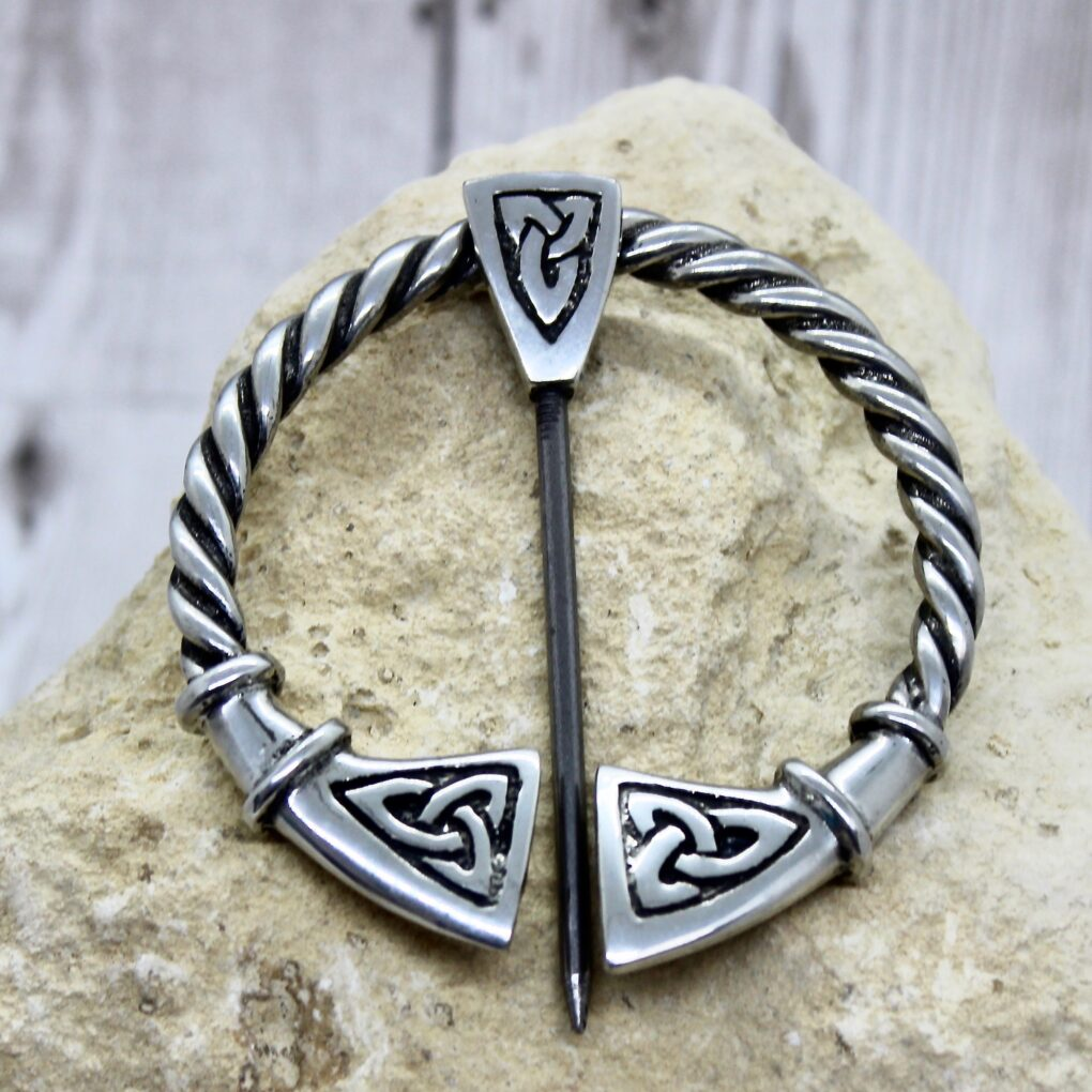 Large Celtic Cloak Pin
