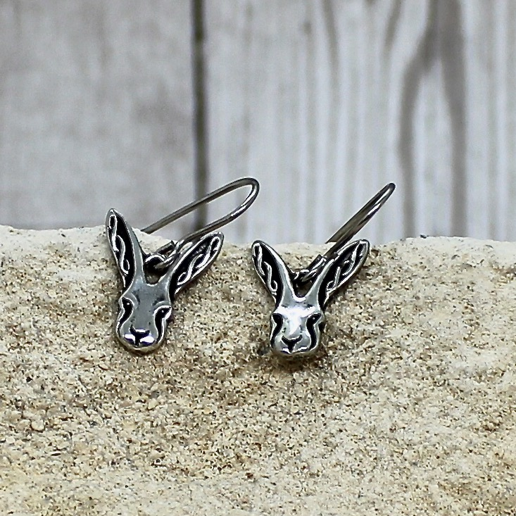 Celtic Hare Earrings