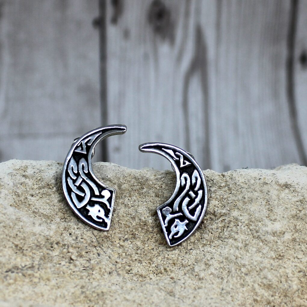 Celtic Beast Stud earrings