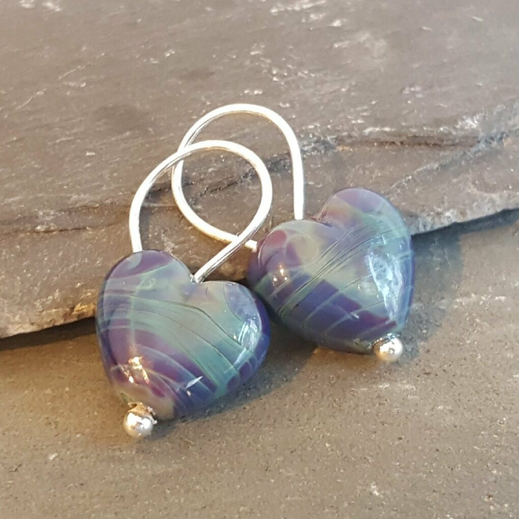 Cora Heart earrings - medmerry multi