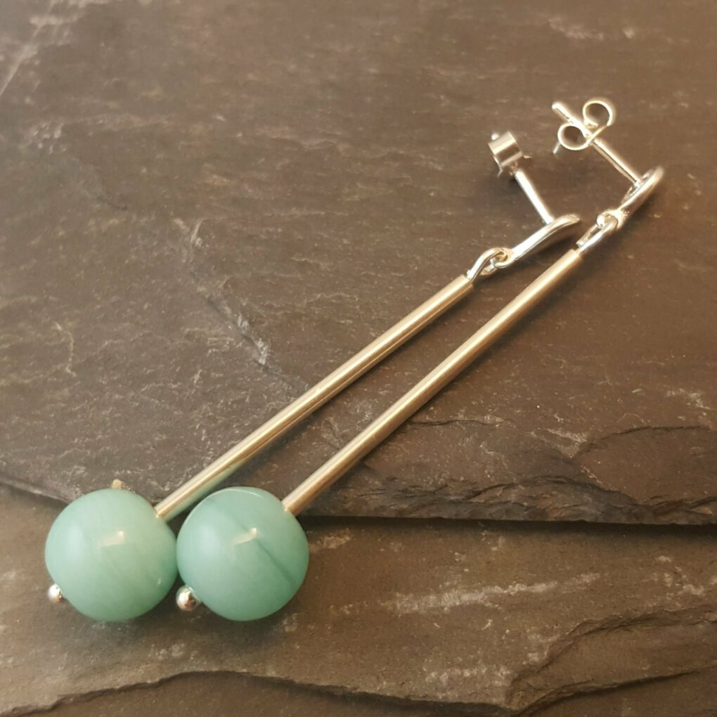 Emily Earrings - Apuldram Green