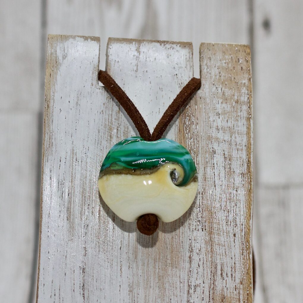 Caribbean Sea Glass Pendant