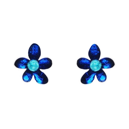 Twilight Flower Stud Earring