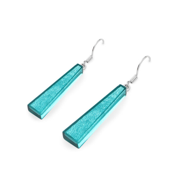 Deco Extravaganza Earrings - Teal.
