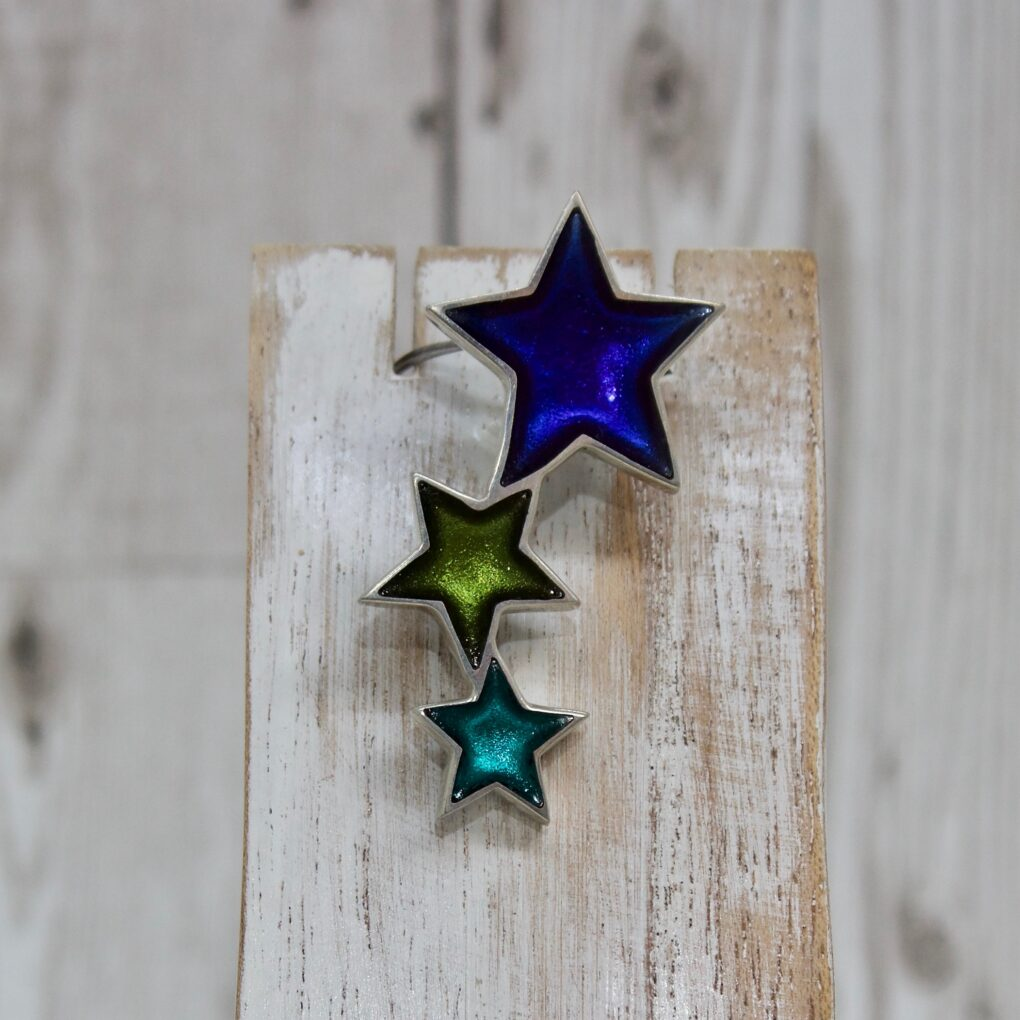 Resin Star Pendant - Everglade