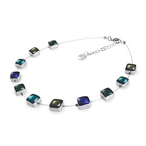 Aluminium Square Necklace - Everglade