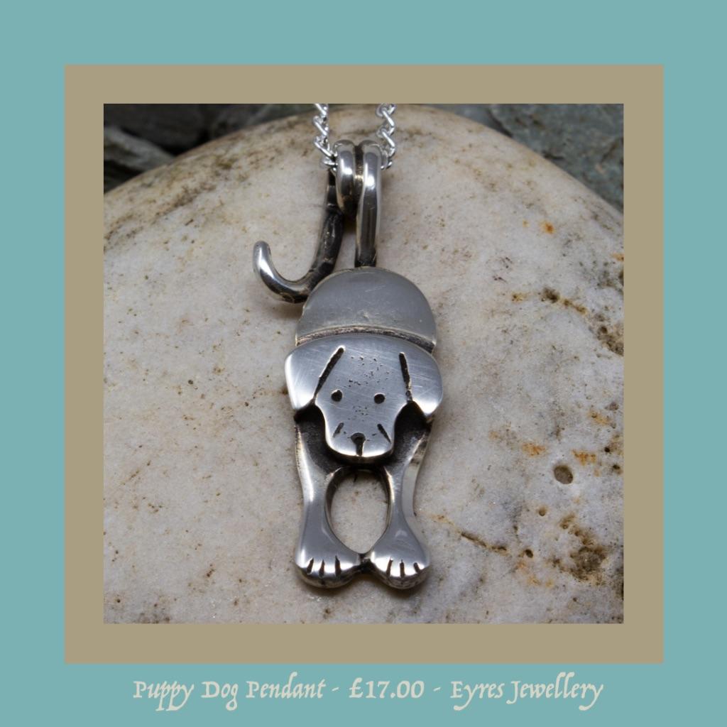 puppy dog pendant